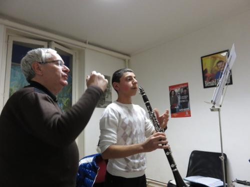Professeur de clarinette